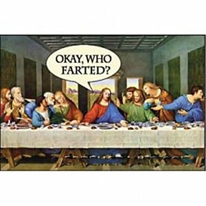 Okay-Who-Farted-last-supper-funny-fridge-magnet-ep