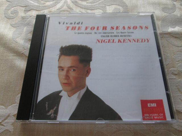 NIGEL KENNEDY - VIVALDI FOUR SEASONS - 1997 2nd ISSUE EMI CLASSICS 724355625328