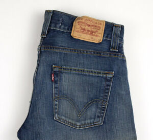 Levi-039-s-Strauss-amp-Co-Hommes-512-Bootcut-Jeans-Jambe-Droite-Taille-W32-L32-AOZ976