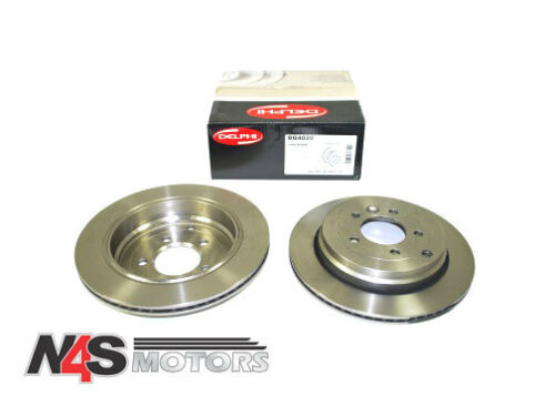 LAND ROVER DISCOVERY 3 /& 4 DELPHI REAR BRAKE DISC ASSEMBLY.PART SDB000636AP