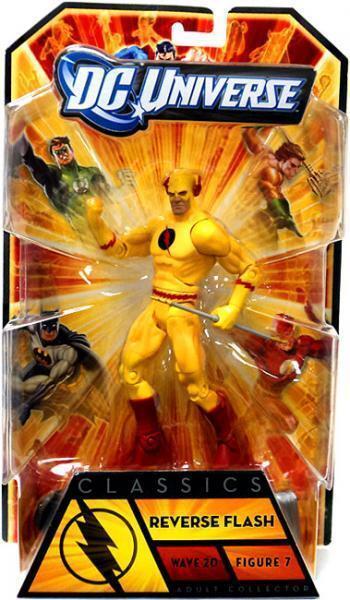 Mattel REVERSE FLASH dc universe superheroes classics legends ZOOM tv barry cw