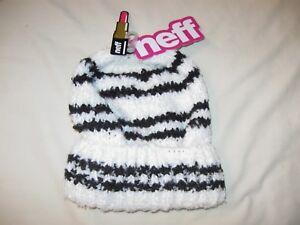 e4cb75f392d Neff Beanie Hat Cap Women s One Size Ladies New W Tags Kim Bowcle ...