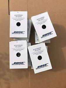 1x-Bose-Acoustimass-10-15-Lifestyle-28-38-V25-525-Double-Cube-Speaker-BLACK