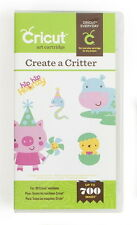 CRICUT *CREATE A CRITTER* SHAPES CARTRIDGE *NEW SEALED* ANIMALS, FARM, ZOO, PETS