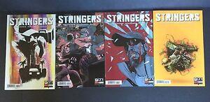 STRINGERS-1-4-2-3-1st-Print-Oni-Press-Comic-Lot-Marc-Guggenheim-2015-NM