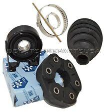 PORSCHE CAYENNE Driveshaft CENTER Support Bearing + Flex Disc + CV BOOT SET 6 Pc