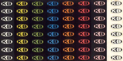 ONE FULL SHEET SCARCE K/&B SLOT CAR RACING 64 OVAL RACECAR BODY STICKERS DECALS