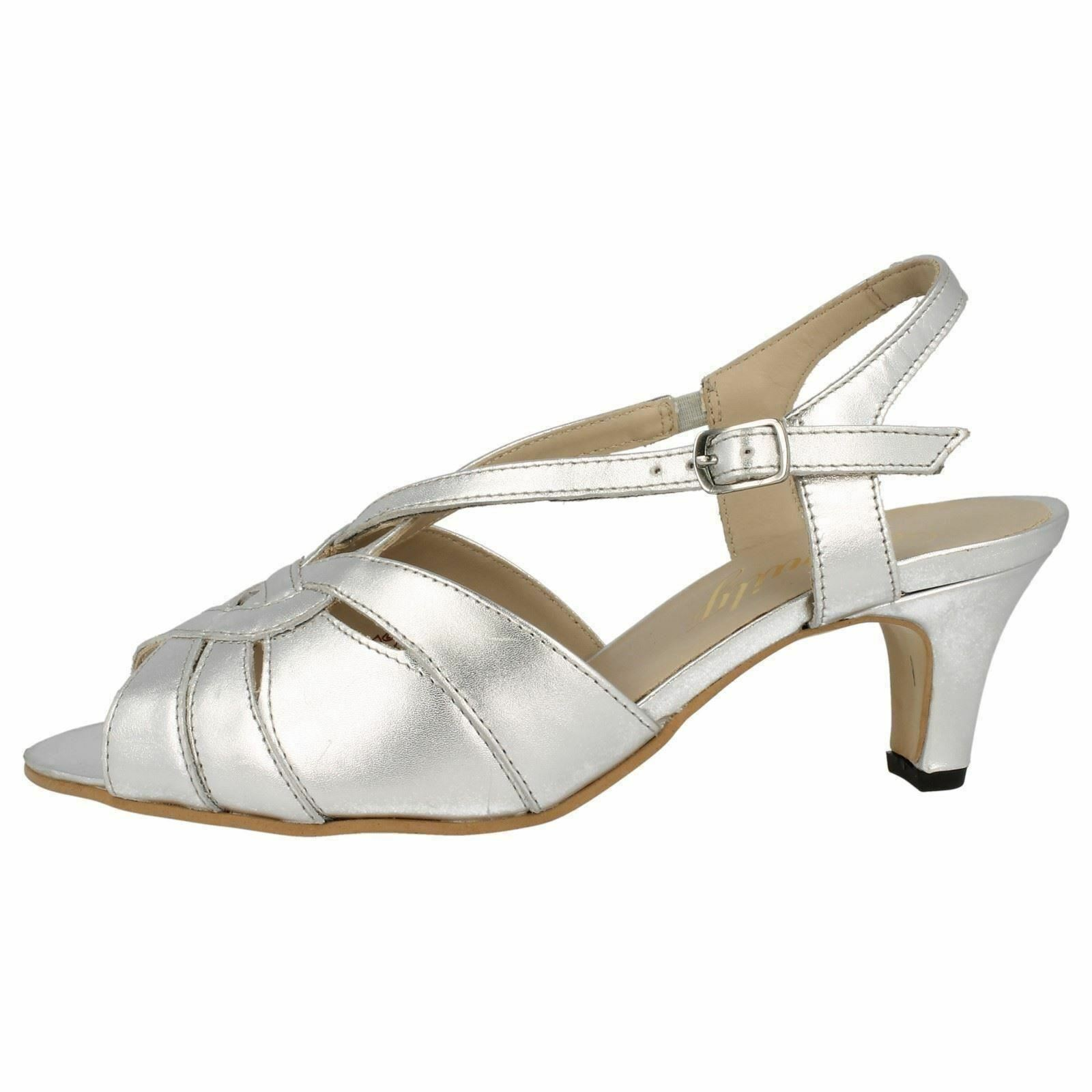 Equity Sarah Wide Fitting Evening Sandals Sandals Evening e94527