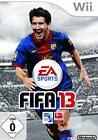 Nintendo Wii +Wii-U FIFA 13 Fussball Deutsch GuterZust.