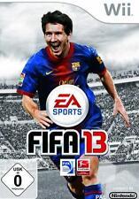 Nintendo Wii + Wii-U FIFA 13 CALCIO TEDESCO PERFETTO