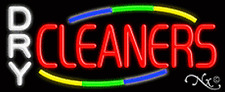 New Dry Cleaners Withmulticolor Design 32x13 Neon Sign Withcustom Options 10786