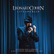 LEONARD COHEN - LIVE IN DUBLIN 3 CD NEU