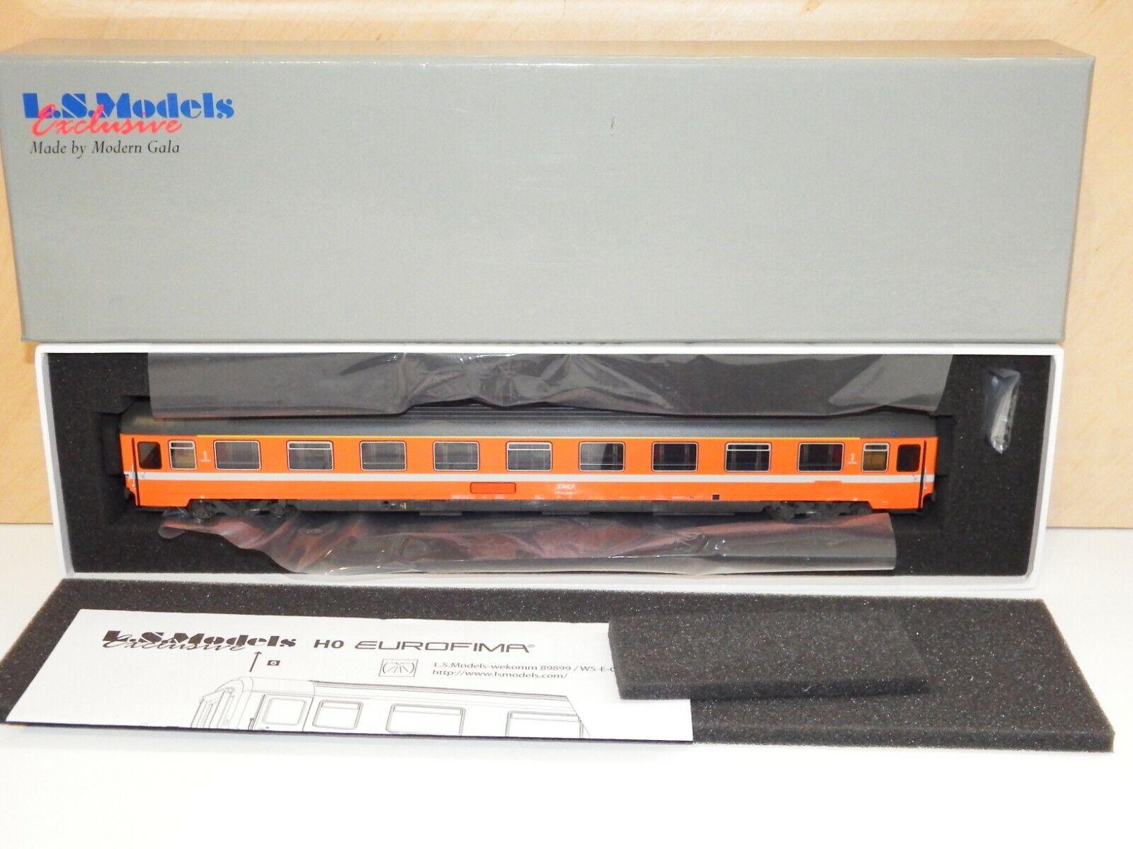 H0 LS models 40351 Passenger Car SNCF Eurofima VSE C1 Blank OVP 5474