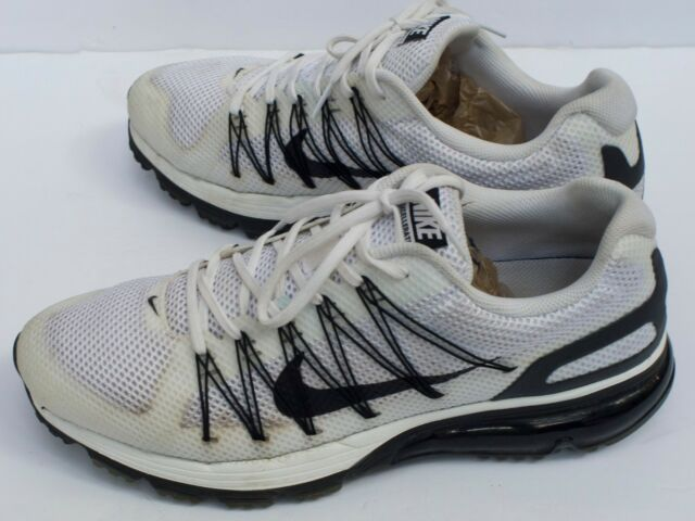 Nike Air Max Mens Running Shoes Excellerate 3 Sz 10.5 White Black 703072 102