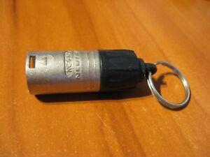 NEW-NeuTrik-NC3MX-NC-MX-3-Pin-Cable-Connector-Key-Ring-Keychain