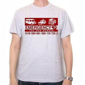 Inspired-by-The-IT-Crowd-T-Shirt-The-New-Emergency-Number-S-3XL-amp-lady-Fit
