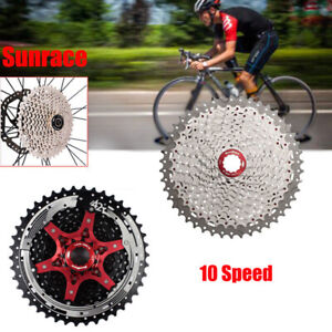 Sunrace-10-Speed-MTB-Road-Bike-Cassette-Bicycle-Cassettes-fit-Shimano-SRAM