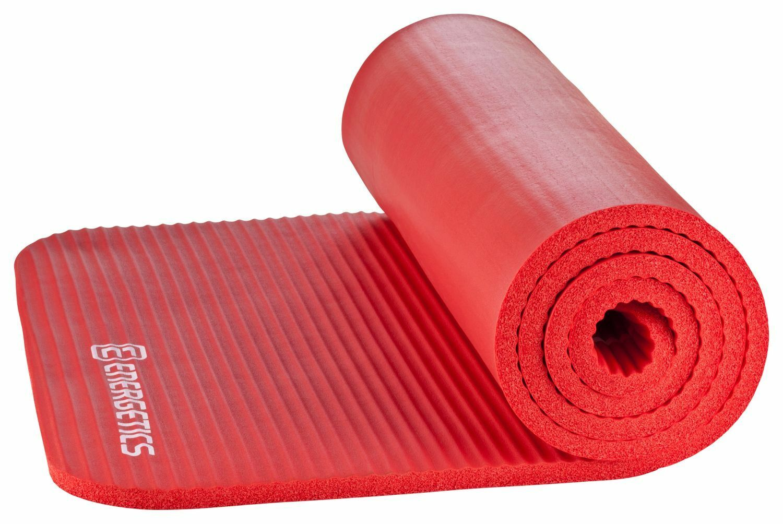 ENERGETICS Sportmatte NBR Professional red 183cm