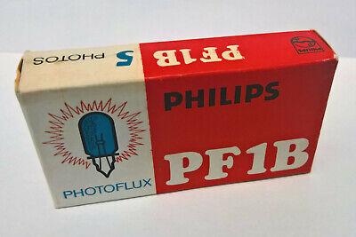Lámparas de flash Nuevas NOS Philips Photoflux PF1B flash bulb for flashguns