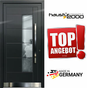 aluminium haust r alu haust ren t r t ren ma anfertigung aktion n01 ebay. Black Bedroom Furniture Sets. Home Design Ideas
