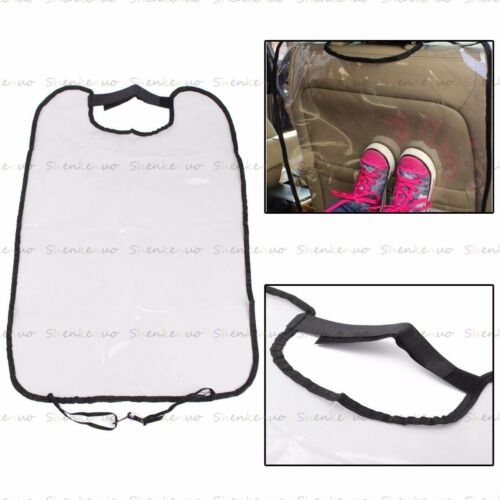 2Pcs Ideal Car Seat Back Rear Protector Clear PVC Anti Stain Mud Cover Mat Pad