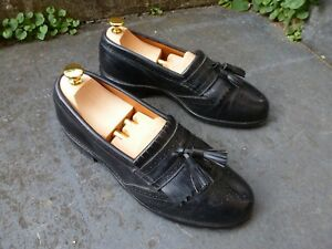 nero scarpe Usa Tassel Edmonds Bridgeton In Loafers Formal Allen Made 8 Brogues 1ftwYn
