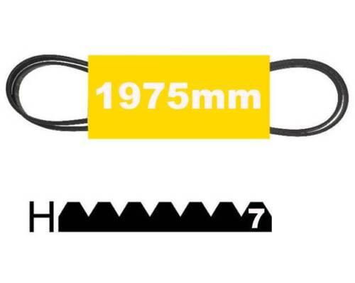 Courroie 1975H7 Poly v 1975mm Lave Linge Seche 481281729143 1258288107 1975 H7