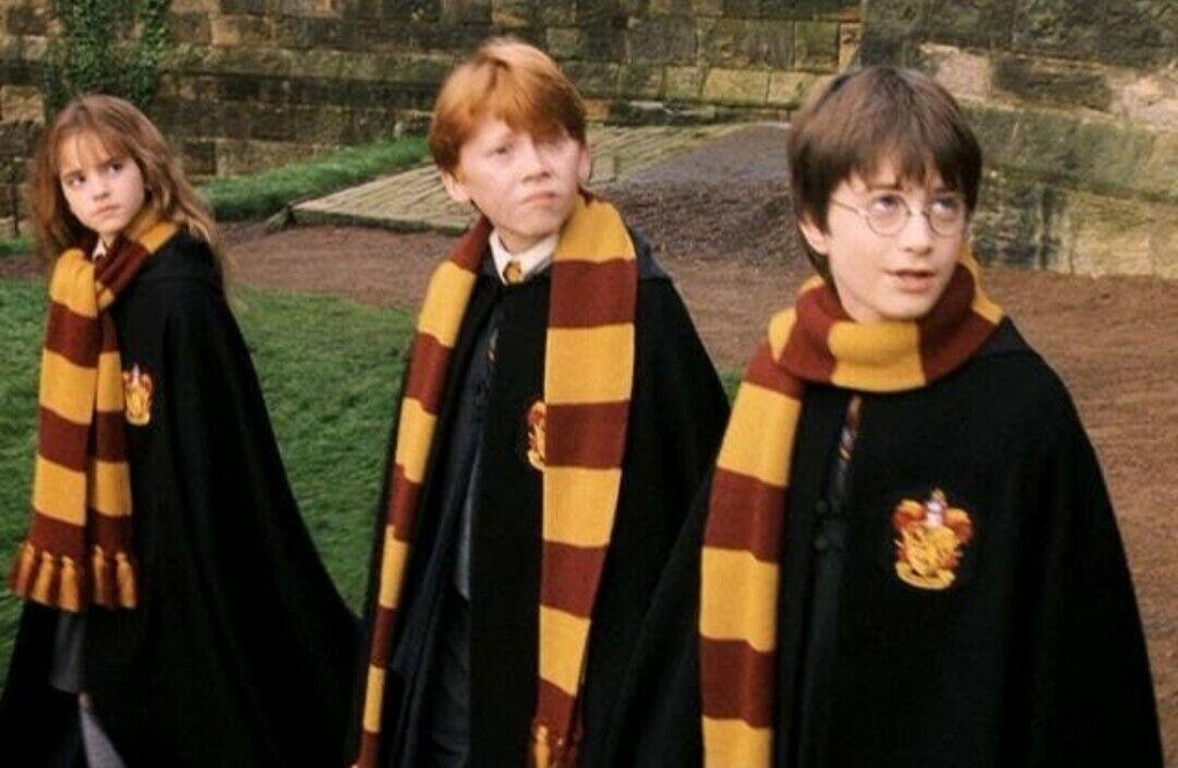 Harry potter gryffindor scarf