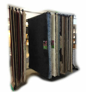 Details About Rug Stand Swing Arm Carpet Display 20 6x4 Single Tier