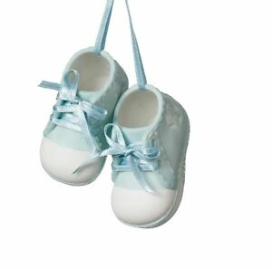 69071e4bf48 Image is loading Pair-of-Baby-Boy-Booties-Christmas-Tree-Ornament-