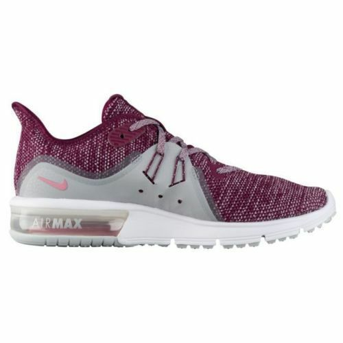 WOMEN'S NIKE AIR MAX SEQUENT 3  Bordeaux Knit Running Shoes