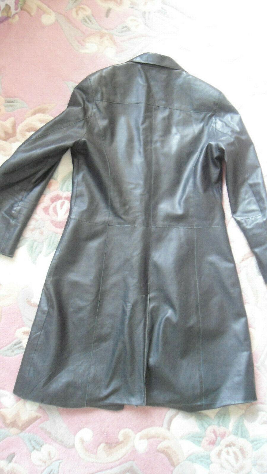 Luxus Luxus Luxus Ledermantel Mantel Designer Me by Milestone schwarz Gr. 38   Mama kaufte ein bequemes, Baby ist glücklich    Charmantes Design  1a1ab2