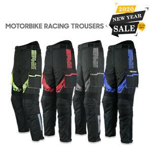 Men-Motorbike-Cordura-Trouser-Waterproof-Motorcycle-Textile-Trouser-Pant-Armour
