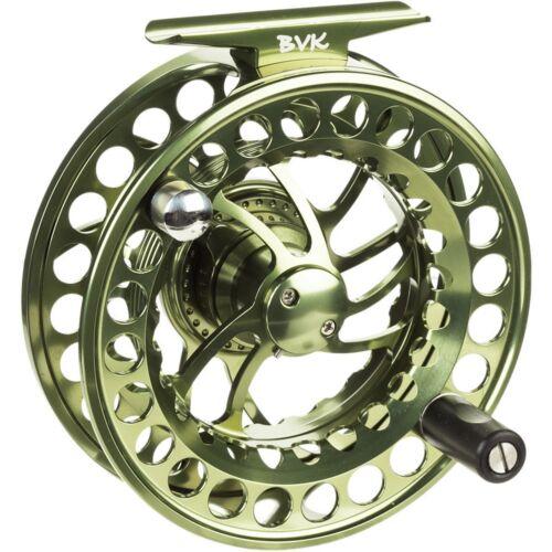 Nouveau $220 TFO Temple Fork Outfitters BVK 3 Fly Fishing Reel pour 7-9 tige de poids