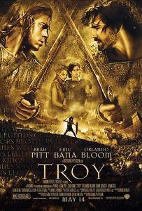 Troy-DVD-2004-2-Disc-Set-Widescreen-Brad-Pitt-Eric-Bana-Orlando-Bloom