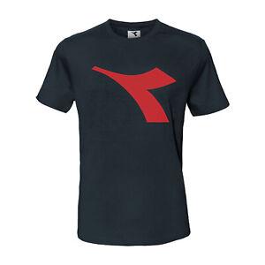 T-Shirt Maglietta Uomo DIADORA Logo Cotone Art.173