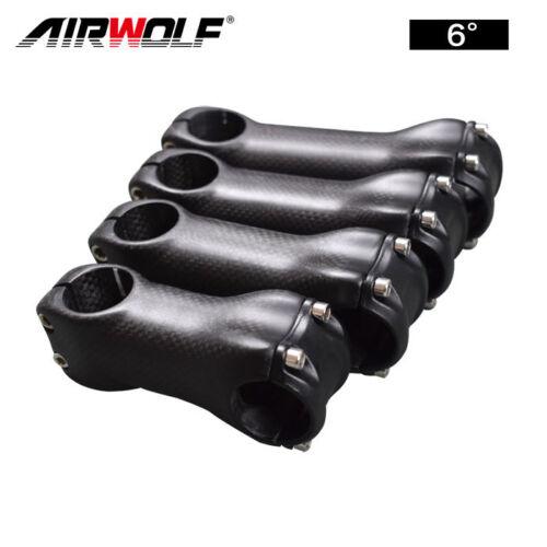 Full Carbon Fiber Bicycle Stem Road//MTB Bike Parts Accessories Angle 6//17 Degree