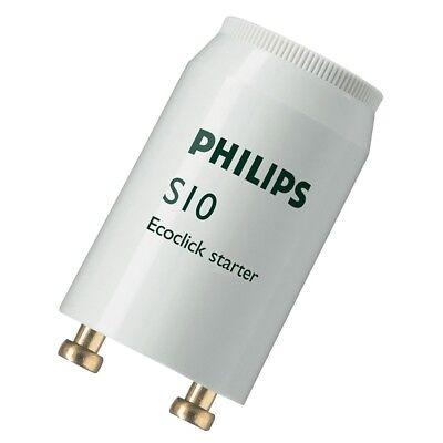 Philips Lighting Fluorescent Tube Starter S10 4-65W 220-240V S101000W 4w 65w