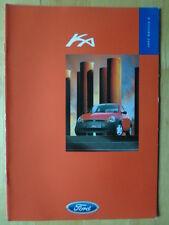 FORD Ka range 1997 1998 orig UK Market brochure