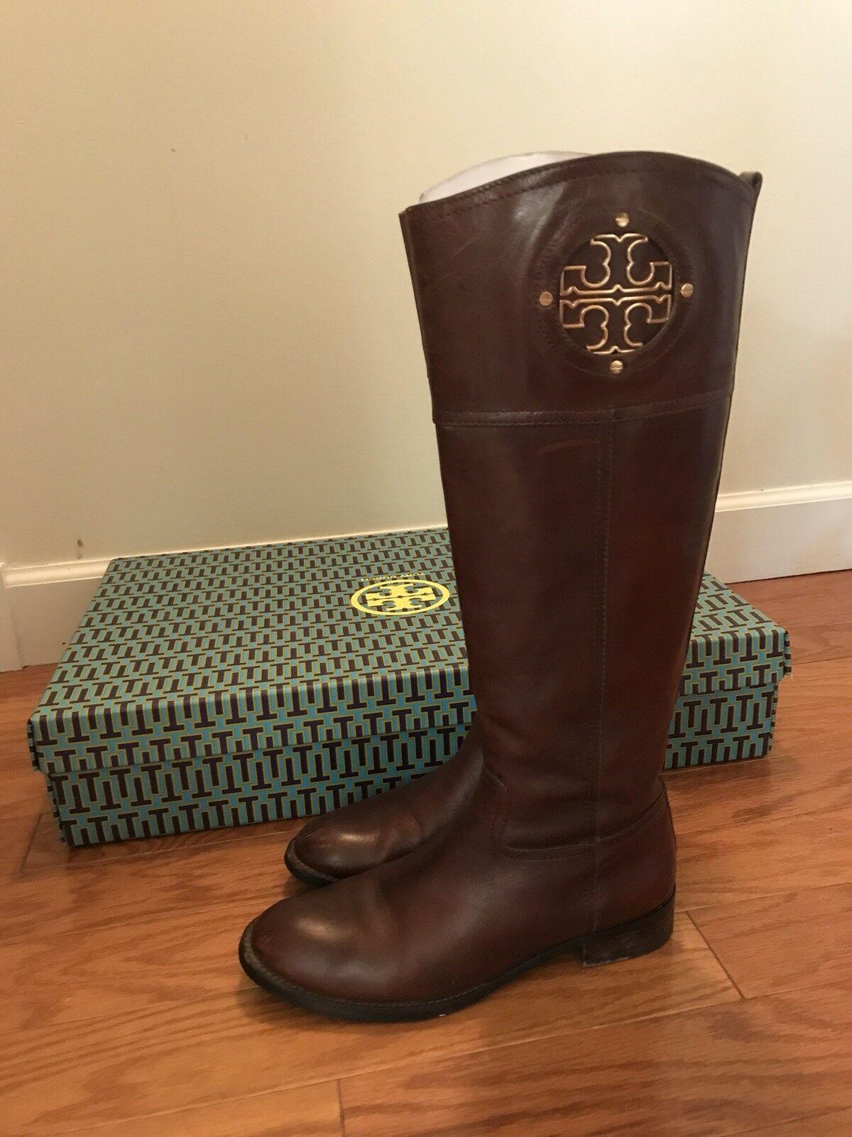 Tory Burch Kiernan Kiernan Kiernan Size 7.5 Riding Boots 0a1760