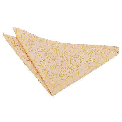 Dqt Tessuti Swirl Con Motivo Oro Formale Fazzoletto Hanky Fazzoletto Da Taschino-mostra Il Titolo Originale Con Le Attrezzature E Le Tecniche Più Aggiornate