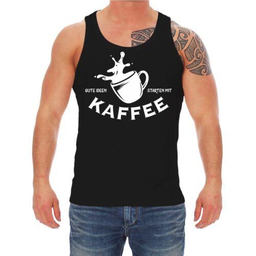 Träger Shirt Tank Top Gute Ideen starten mit KAFFEE
