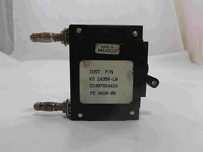 Cc407664424 Considerate Lucent Ks 24356-l8 Lel1-29869-8 25a Breaker Used Beautiful In Colour
