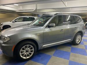 2008 BMW X3 3.OSi M Package - Silver Grey - Certified