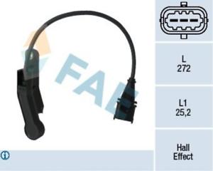 Nockenwellenposition für Gemischaufbereitung FAE 79138 Sensor