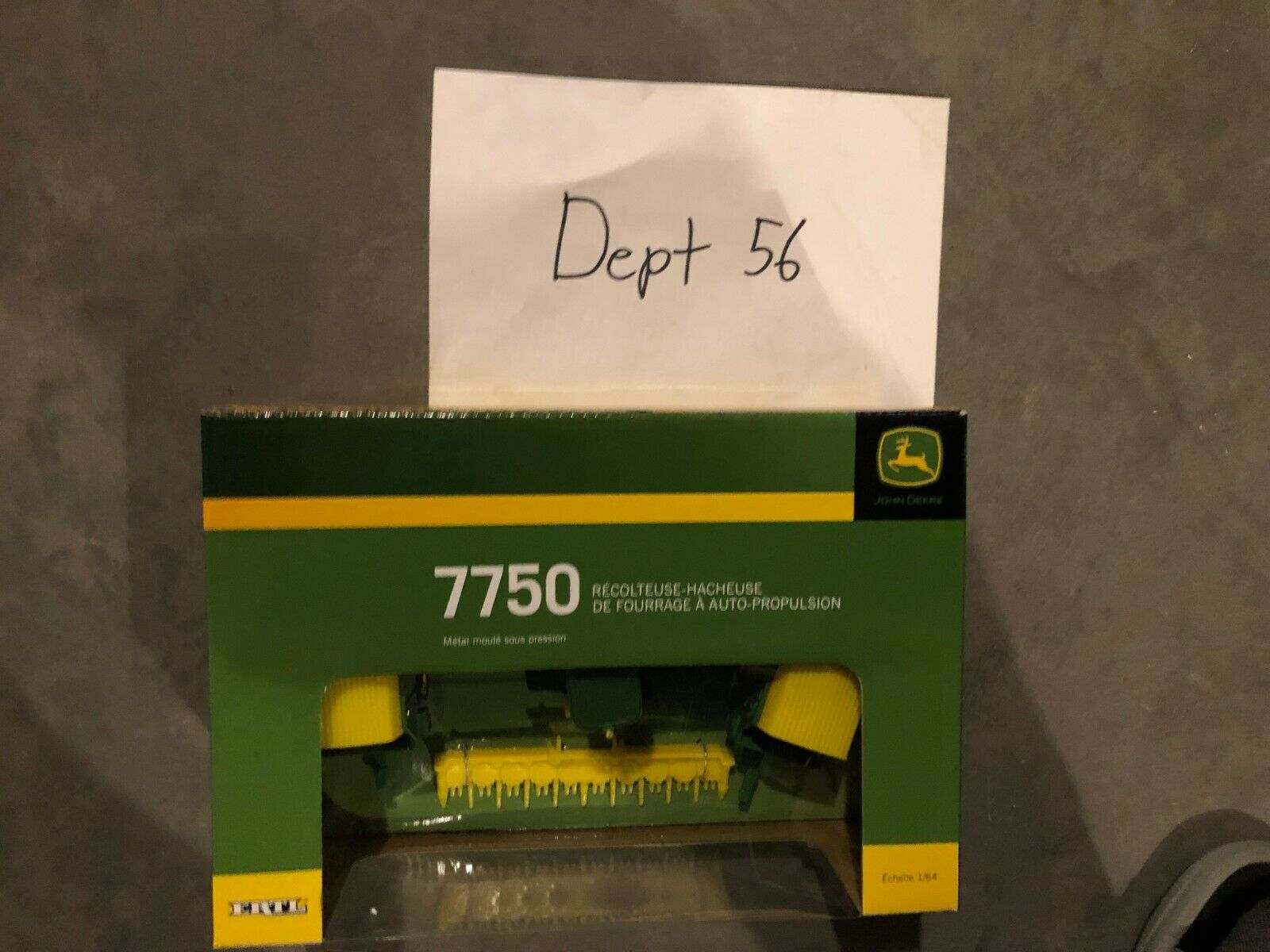ERTL 1 64 John Deere 7750 Self Propelled Forage Forage Forage Harvester Set df50fb