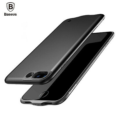 Baseus Luxury Power Bank Battery Backup Case Charger Cover For iPhone 7/7 Plus