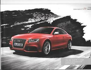 Comprehensive Audi Rs 5 Coupe Illustrated Pricesspecssales