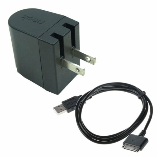 """Original Wall Power Charger Charge Cable For Barnes Nook HD HD 7//9/"""" BNTV400//600"""