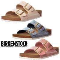 Womens Birkenstock Arizona Shiney Snake Standard Flip Flop Sandal Size